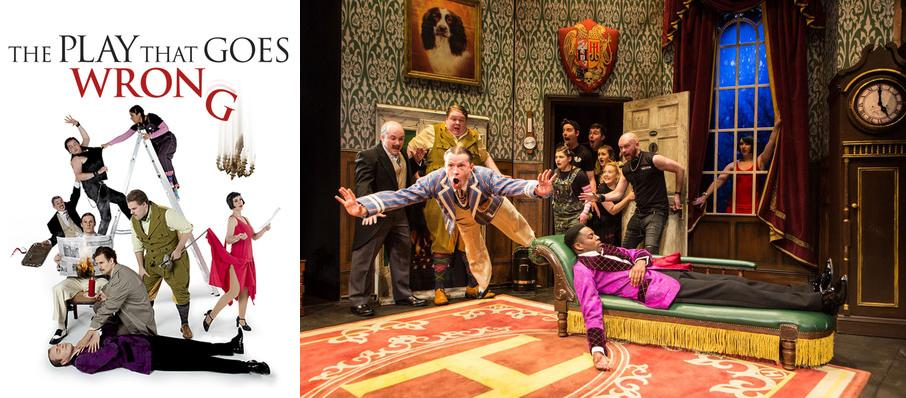 The Play That Goes Wrong at Duchess Theatre