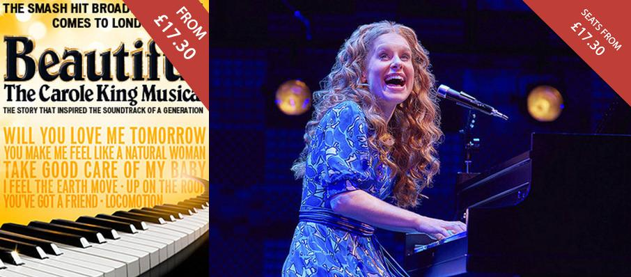 Beautiful : The Carole King Musical at Aldwych Theatre