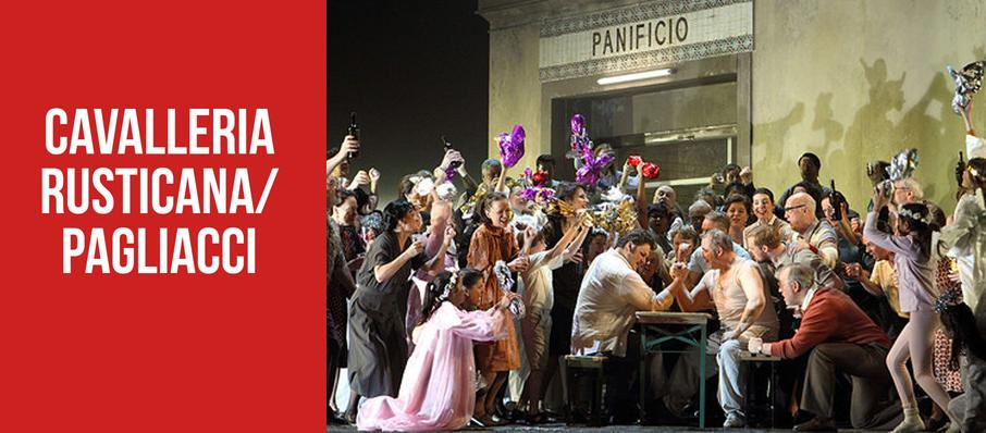 Cavalleria rusticana/ Pagliacci at Royal Opera House