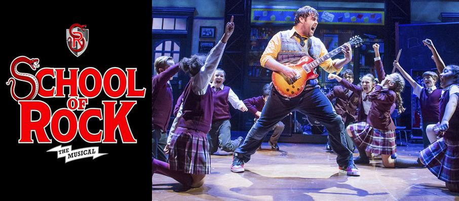 School of Rock at New London Theatre