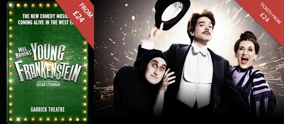 Young Frankenstein at Garrick Theatre