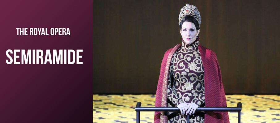 Semiramide at Royal Opera House