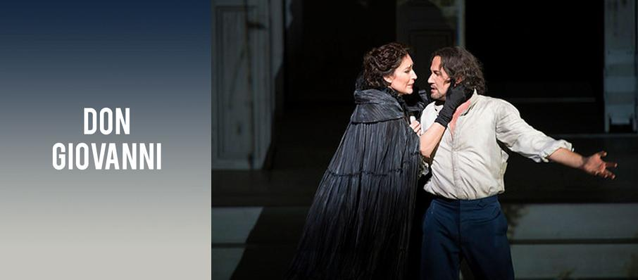 Don Giovanni at Royal Opera House