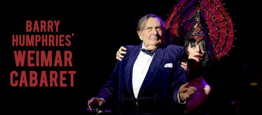 Barry Humphries' Weimar Cabaret at Barbican Theatre