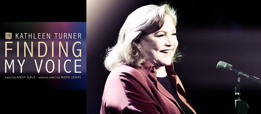 Kathleen Turner: Finding My Voice at The Other Palace