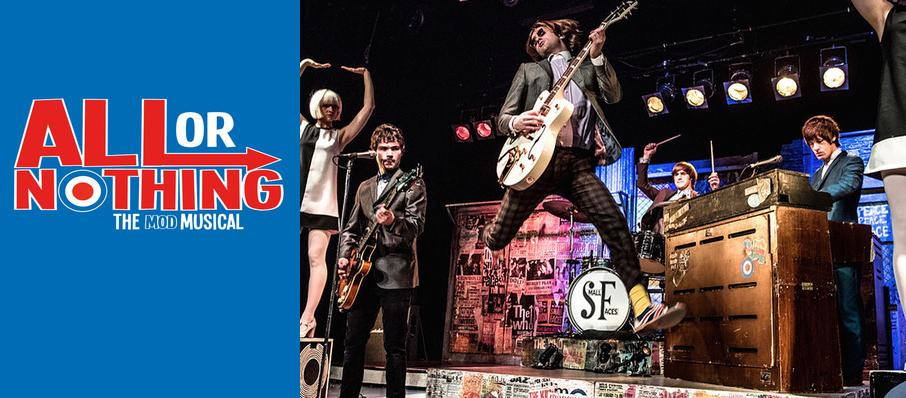 All Or Nothing - The Mod Musical at Ambassadors Theatre