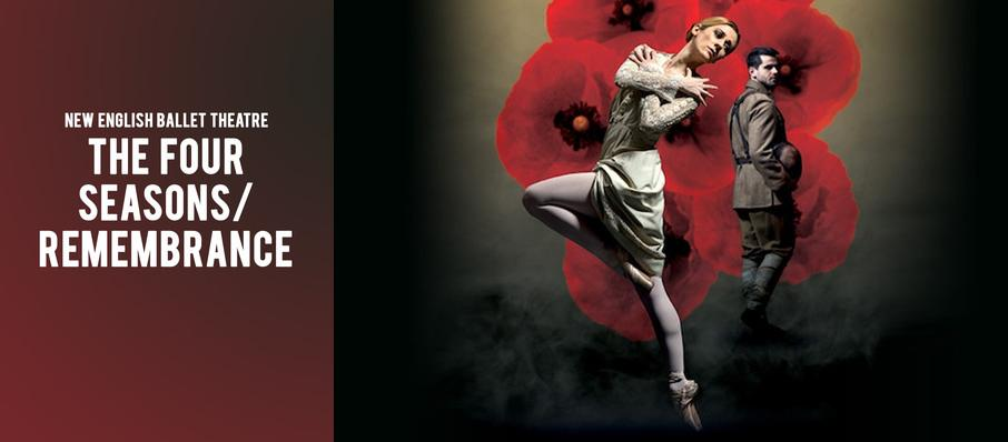 New English Ballet Theatre: The Four Seasons/ Remembrance at Peacock Theatre