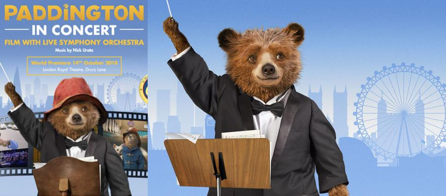 Paddington in Concert at Theatre Royal Drury Lane