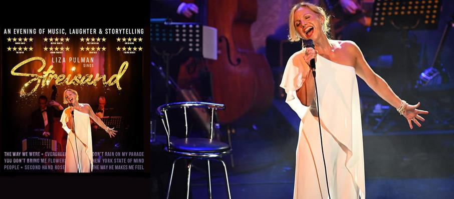 Liza Pulman Sings Streisand at Lyric Theatre