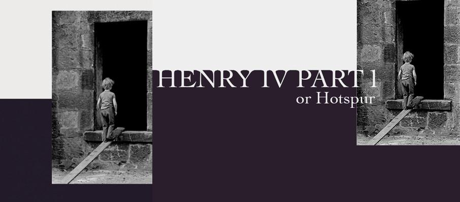 Henry IV Part I or Hotspur at Shakespeares Globe Theatre
