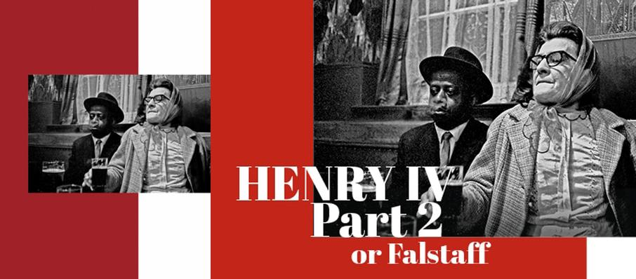 Henry IV Part II or Falstaff at Shakespeares Globe Theatre