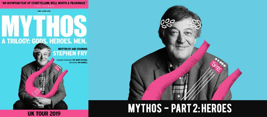 Stephen Fry's Mythos - Part 2: Heroes at London Palladium