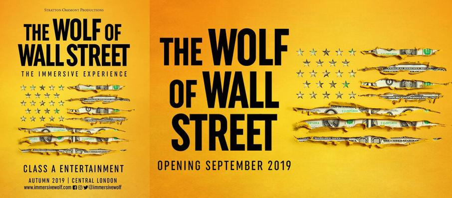The Wolf of Wall Street at The Immersive Wolf of Wall Street