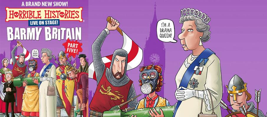 Horrible Histories - Barmy Britain Part Five at Apollo Theatre