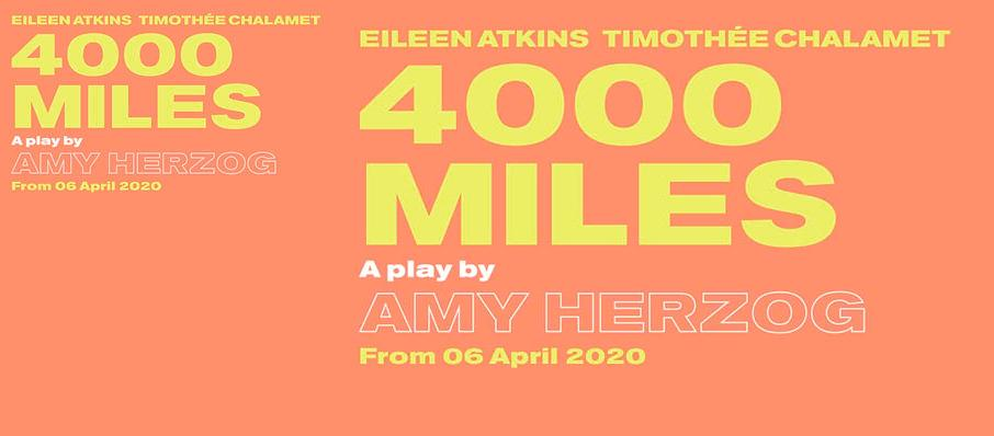 4000 Miles at Old Vic Theatre