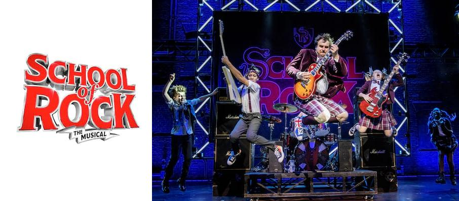 The School of Rock at New Wimbledon Theatre