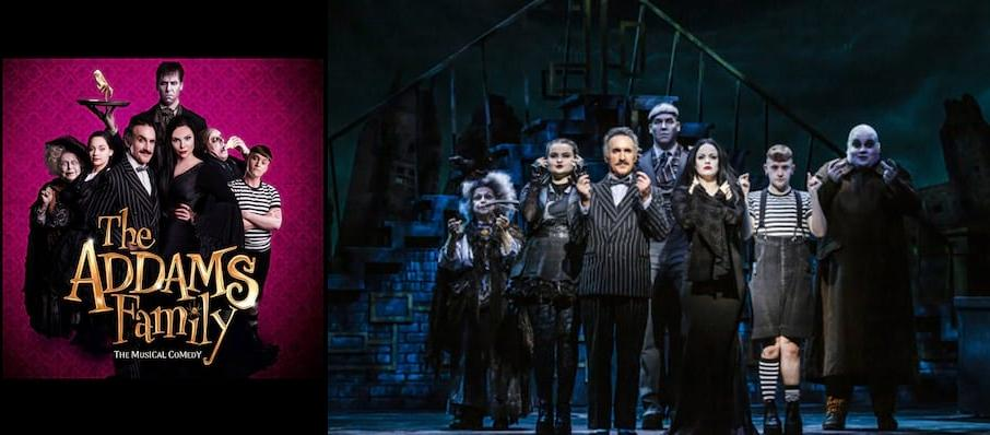The Addams Family at Churchill Theatre