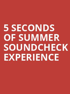 5 Seconds of Summer Soundcheck Experience at Eventim Hammersmith Apollo