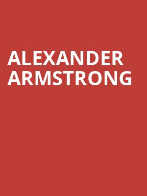 Alexander Armstrong at Royal Albert Hall