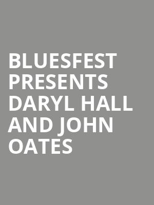 BluesFest Presents Daryl Hall and John Oates at O2 Arena