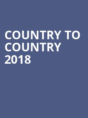 Country to Country 2018 at O2 Arena