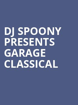 DJ Spoony Presents Garage Classical at Eventim Hammersmith Apollo