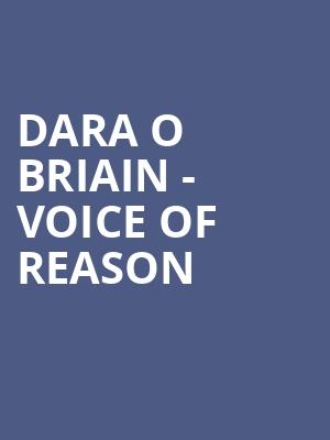 Dara O Briain - Voice of Reason at Eventim Hammersmith Apollo