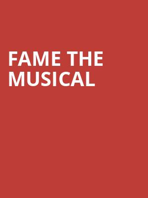 Fame the Musical at Peacock Theatre