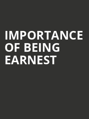 Importance Of Being Earnest at Vaudeville Theatre