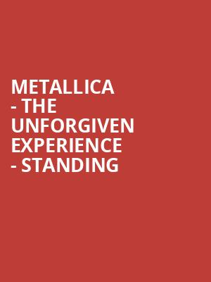 Metallica - The Unforgiven Experience - Standing at O2 Arena