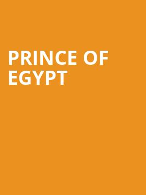 Prince of Egypt at Dominion Theatre