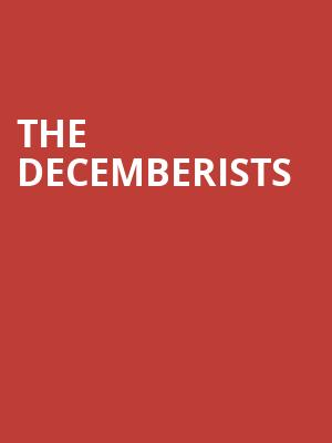The Decemberists at Eventim Hammersmith Apollo