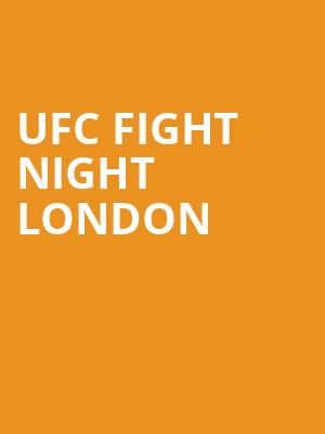 UFC Fight Night London at O2 Arena
