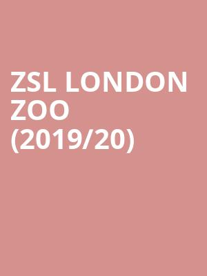 ZSL London Zoo (2019/20) at ZSL London Zoo