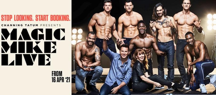 Magic Mike Live, London Hippodrome, London