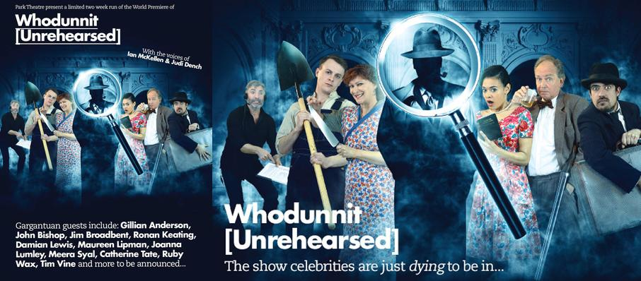 Whodunnit Unrehearsed, Park Theatre, London