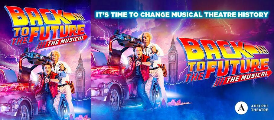 Back To The Future The Musical, Venue To Be Confirmed, London