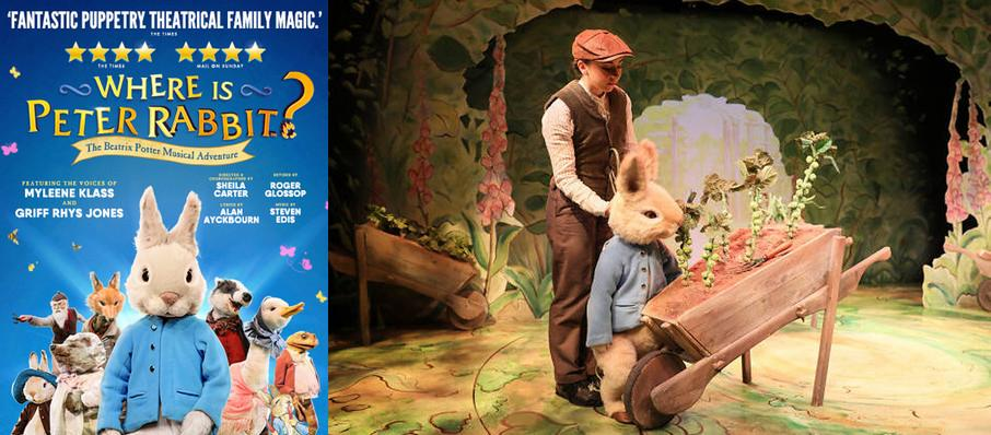 Where is Peter Rabbit, Theatre Royal Haymarket, London