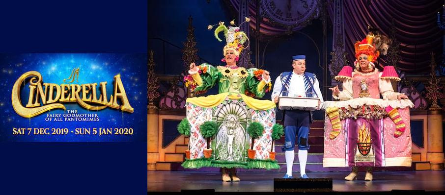 Cinderella, New Wimbledon Theatre, London
