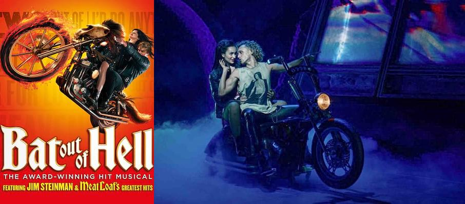 Bat Out Of Hell, New Wimbledon Theatre, London