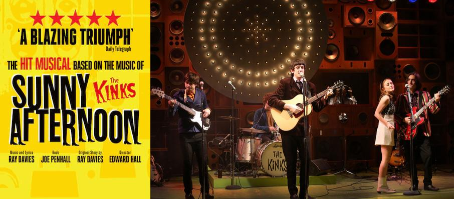 Sunny Afternoon, New Wimbledon Theatre, London
