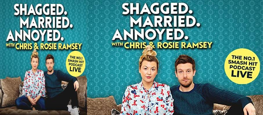 Shagged Married Annoyed with Chris and Rosie Ramsey, Adelphi Theatre, London