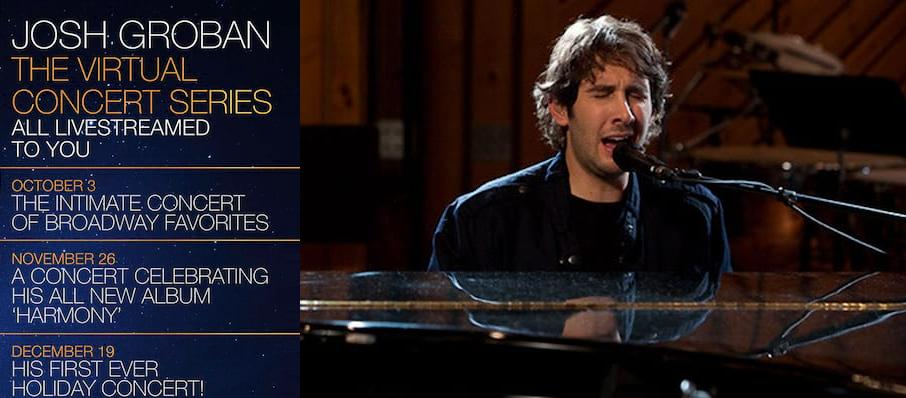 Josh Groban An Intimate Concert Event, Virtual Experiences for London, London