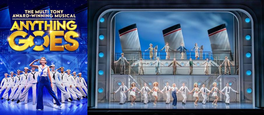 Anything Goes, Barbican Theatre, London