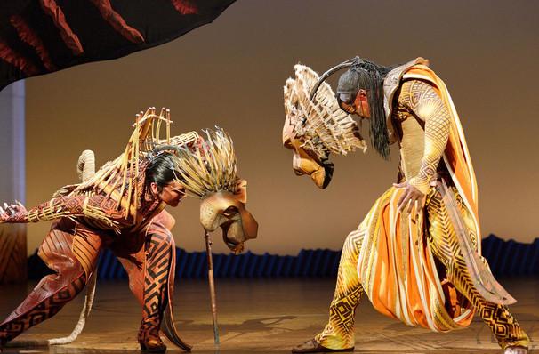 lion king - lyceum theatre london
