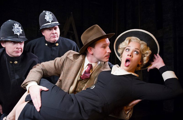 39 steps live theatre review The 39 steps,' a comedy thriller based on alfred hitchcock's 1935  american  theatre, variety, the sondheim review and backstage west.