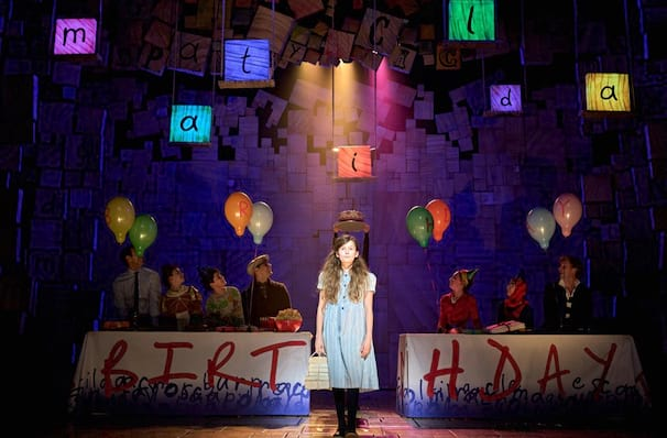 Matilda The Musical Cambridge Theatre London Tickets