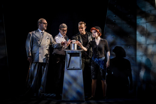 the comedy about a bank robbery criterion theatre london